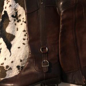 Alex Marie riding boots